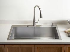 Kohler  Verity™  Apron Front Sinks  Kitchen Sinks  Kitchen New Sink Kitchen Design Decoration