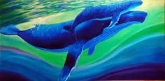 Image result for whale paintings