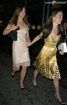 Kate et Pippa Middleton à Londres, en 2008.