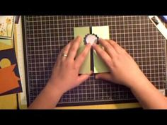 ▶ Marvelous Magical Marquee Card Tutorial - YouTube Makes a square Christmas Nativity card