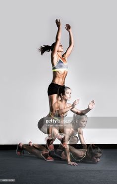 Les burpees, un exercice type d'un training HIIT Fitness Workouts, Yoga Fitness, Fitness Motivation, Funny Fitness, Fitness Photography, Sport Photography, Burpees, Air Squats, Burpee Challenge