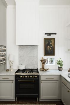 IDCO Presets: How the Presets Work - The Identité Collective Greige kitchen with white shiplap and black range Kitchen Decor, Kitchen Inspirations, Greige Kitchen, Design My Kitchen, Kitchen Design, Kitchen Design Plans, Updated Kitchen, Kitchen Remodel, Kitchen Renovation