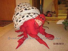 Coolest Homemade Hermit Crab Halloween Costume Idea... Coolest Homemade Costumes