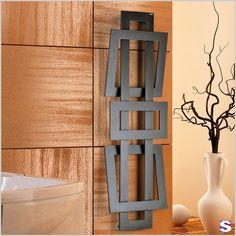 vertikaler designheizkörper aus aluminium square kollektion, Hause deko