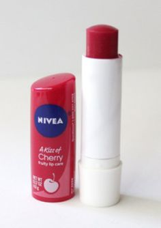 Nivea Kiss of Cherry Lip Balm