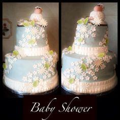 Baby Shower Lamb Cake