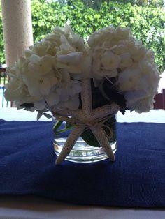 diy beach wedding centerpieces | DIY Beach themed Centerpiece. Easy!