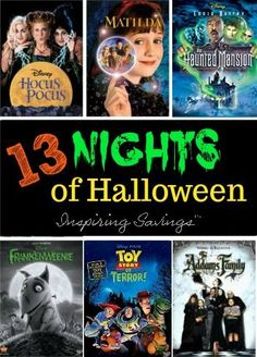 It's the most exciting time of the year: Freeform has released its official 13 Nights of Halloween schedule! Check out this year's line of movies.