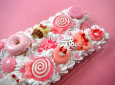 Pink Sweets Decoden Phone Case Samsung Galaxy S4 by CaravanOfCases