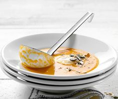 Soup Recipes, Panna Cotta, Food And Drink, Ethnic Recipes, Mad, Foods, Drinks, Cinnamon, Vegetable Stock