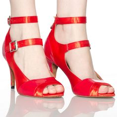 Chaussure A Talon Fashion Rouge