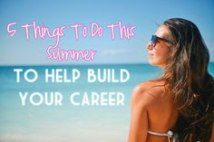 Do you have any career goals you've been putting off because you're too busy? Summer is the perfect time to work on them! Whether you want to start a side hustle to earn more, or work on your skills, here are 5 things that will help build your career.