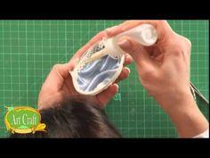 Art Craft - Tutorial 07 / Vanesa Pena - Arte Realeggza - YouTube