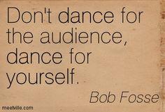 Bob Fosse, ladies and gentlemen.