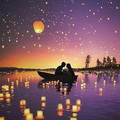 You are the glow to my flying lantern 🔥 Happy Lantern Festival China! Galaxy Wallpaper, Disney Wallpaper, Wallpaper Backgrounds, Lantern Festival China, Sky Lanterns, Floating Lanterns, Disney Art, Disney Tangled, Night Skies