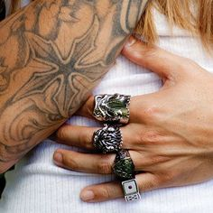 Rings, Tatts, and a Girl