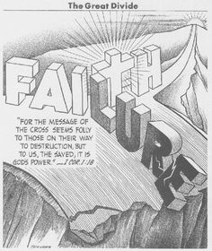 Faith. One of Patches Walker's inspiring and faith- and praise-raising posts.