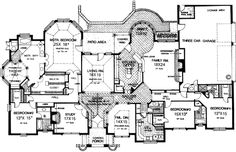 First Floor Plan of European House Plan 97877. If link takes you to their main page, search for the plan #.