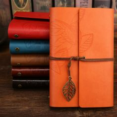 New Diary Notebook Vintage tree Note Book Replaceable Traveler Notepad Book Leather Cover Blank Notebook