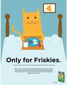 Friskies Indoor food