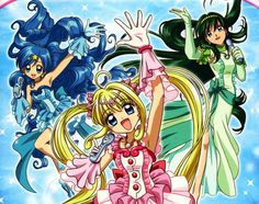 anime – MERMAID MELODY (Mermaid Melody: Pichi Pichi Pitch – Mermaid Melody: Principesse Sirene) – di Yoshitaka Fujimoto Il Bazar di Mari