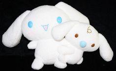 "Sanrio Smiles Cinnamoroll White Dog Soft Toy Plush Doll Stuffed Animal 6"" #Sanrio"
