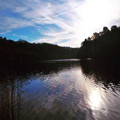 Dusk #swissvalley #lake #lovewales #silhouette #melancholy #society6…