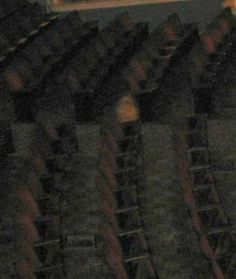 This picture was taken by an investigator for the ETPS at the Bijou Theatre in Knoxville, TN and iswhat they believe to be a child ghost