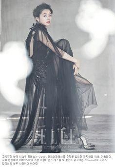 Jun Ji Hyun in Elle Korea May 2012