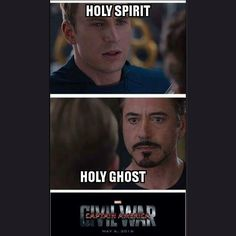 It's on! #civalwar #marvel #captainamerica #ironman #comics #comicbook #movies #holyghost #holyspirit #sunday #church #God #Jesus #christian #calvarychapel #hiphop #music #chh #losangeles #la by emtyhiphop