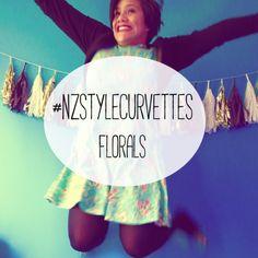 #nzstylecurvettes - floral (outfit post)