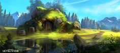ArtStation - Skyblivion - Hearthlands Cave, Roberto Gatto