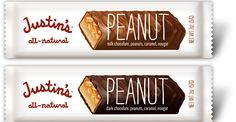 Justin's candy bars -- an all-natural Snickers alternative. I LOVE their little peanut butter packets - must try these. Peanut Butter Packets, Justin's Peanut Butter, Cocktail Desserts, Cocktails, Natural Candy, Cool Mom Picks, Gluten Free Treats, Candy Bars, Chocolate Peanuts