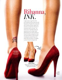 Pics of: Rihanna - InStyle Magazine (August 2008)
