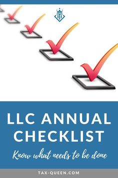 Attention small business owners! As an LLC owner follow these 4 simple steps as part of your LLC annual checklist to help keep your business in good standing and your assets protected. #checklist #smallbiz #llc