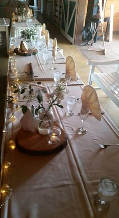 Head Table with Lights