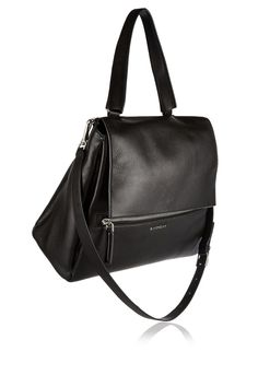 84565f3897 Givenchy - Medium Pandora Pure bag in black textured-leather
