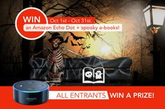 Win an Amazon Echo Dot + a Collection of Spooky E-books! http://www.newadultnoir.com/giveaways/win-an-amazon-echo-dot-a-collection-of-spooky-e-books/?lucky=2254