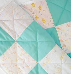 Just added this girly  boho quilt to the shop. Go check it out and use code QUILT for 20%off.  Happy hump day