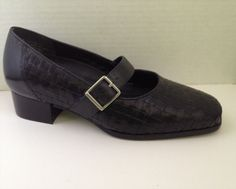 36.10$  Watch now - http://vipkp.justgood.pw/vig/item.php?t=tedf0d58648 - Drew Shoes Womens Size 5 Wide Black Mary Janes Heels 5W