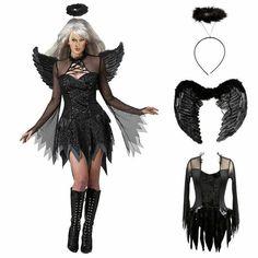 Black Swan Black Feather Halloween Costume Gloves O//S BNWT