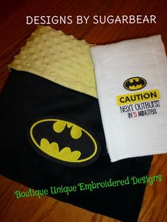 This item is unavailable Batman Nursery, Baby Batman, Batman Room, Baby Boy Rooms, Baby Boy Nurseries, Baby Shower Gifts, Baby Gifts, Baby Cooking, Baby Sewing Projects