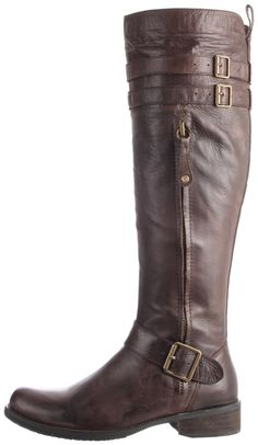 Really really liking these tall brown boots!
