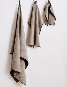 Belgian Minimalism: Get the Look | Vida Towels by Abode Living | Est Living Design Directory