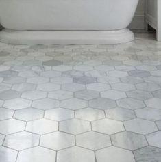 Bath room tiles floor renovation 36 ideas for 2019 Marble Bathroom, Octagon Tile, Townhouse Bathroom, Marble Bathroom Floor, Octagon Tile Bathroom, Flooring, Bathroom Flooring, Bathrooms Remodel, Farmhouse Shower