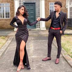 prom dresses black girls slay & prom dresses + prom dresses long + prom dresses 2020 + prom dresses black girls slay + prom dresses short + prom dresses two piece + prom dresses blue + prom dresses mermaid Prom Dresses Slay, Black Girl Prom Dresses, Prom Dresses Two Piece, Prom Dresses Long With Sleeves, Long Prom Gowns, Prom Outfits, Party Dresses, All Black Suit Prom, Short Prom