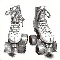 Roller Skates by *vesi*, via Flickr