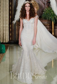 Brides.com: Galia Lahav - Spring 2016 Wedding dress by Galia LahavPhoto: Luca Tombolini / Indigitalimages.com