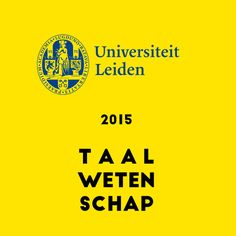 In 2015 nam ik mijn masterdiploma Taalwetenschap in ontvangst van de Universiteit Leiden!