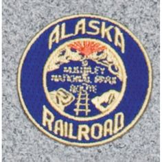 Alaska Railroad Logo Patch